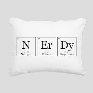 NErDy [Chemical Elements] Rectangular Canvas Pillo